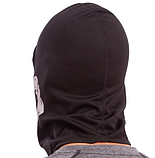 Підшоломник балаклава, маска Скелет (MS-4832) Чорно-білий, фото 3