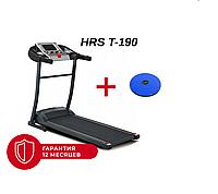 Беговая дорожка электрическая складная HRS T-190 Домашняя спортивная для бега Профессиональная для похудения