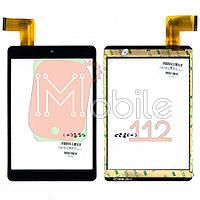 Сенсор (тачскрин)  планшета 7,85 дюймов P/N: GT78PW125 137 х 197 мм, 40 pin черный