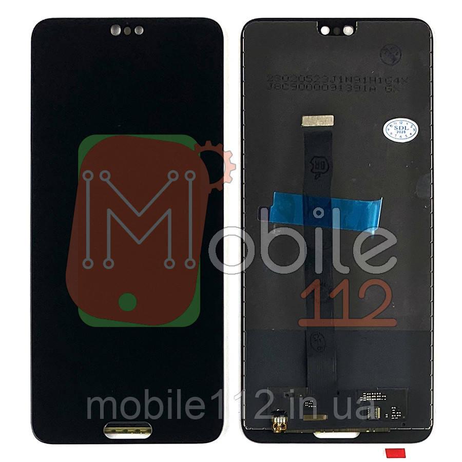 Экран (дисплей) Huawei P20 EML-L29 + тачскрин черный оригинал Китай