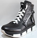 Ботинки женские зимние кожаные от производителя модель КЛ231Р, фото 2