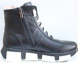 Ботинки женские зимние кожаные от производителя модель КЛ231Р, фото 3
