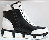 Ботинки женские зимние кожаные от производителя модель КЛ231Р, фото 8