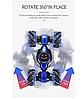 Машинка перевертыш STUNT HL-C019S на радиоуправлении, управление с руки, вращение 360° | Бирюзовый, фото 6