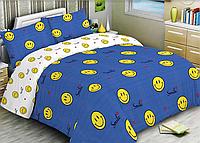 Полуторный комплект постельного белья 150х220 Ранфорс-хлопок 100% (15576)