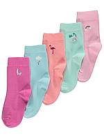 Набор детских носочков с принтом 5 пар Джордж для девочки