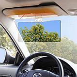 Солнцезащитный антибликовый козырек для дня и ночи HD Vision Visor, фото 3