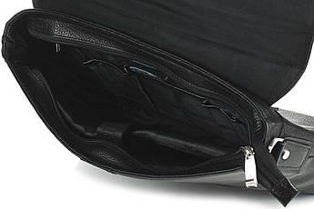 Сумка мужская кожаная Casa Familia S10-8807-01 black, фото 2