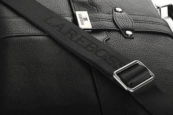 Сумка мужская кожаная Casa Familia S10-8807-01 black, фото 3