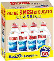 Гель для стирки универсал Dixan Classico 80 стир