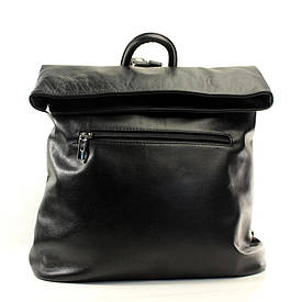 Рюкзак Casa Familia кожаный итальянский BIC0-601 черный