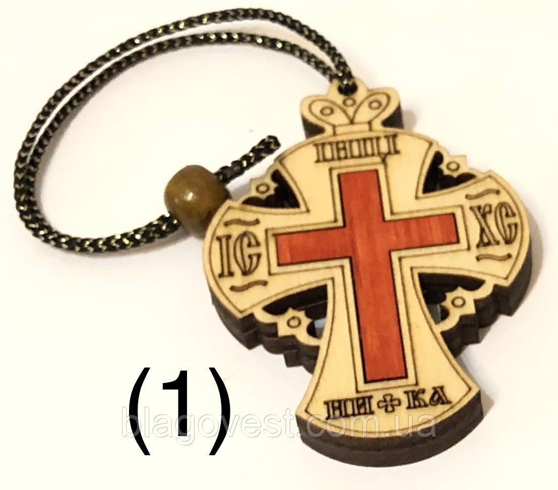 Підвіска хрест випалений (без розп'яття) Н
