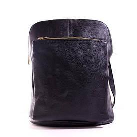 Рюкзак Casa Familia кожаный итальянский BIC0-101 черный