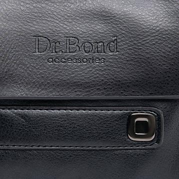 Сумка Мужская Планшет иск-кожа DR. BOND GL 512-0 черная, фото 2