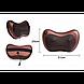 Массажная Подушка MASSAGE PILLOW Инфракрасный роликовий массажер для шеи и спины, фото 8