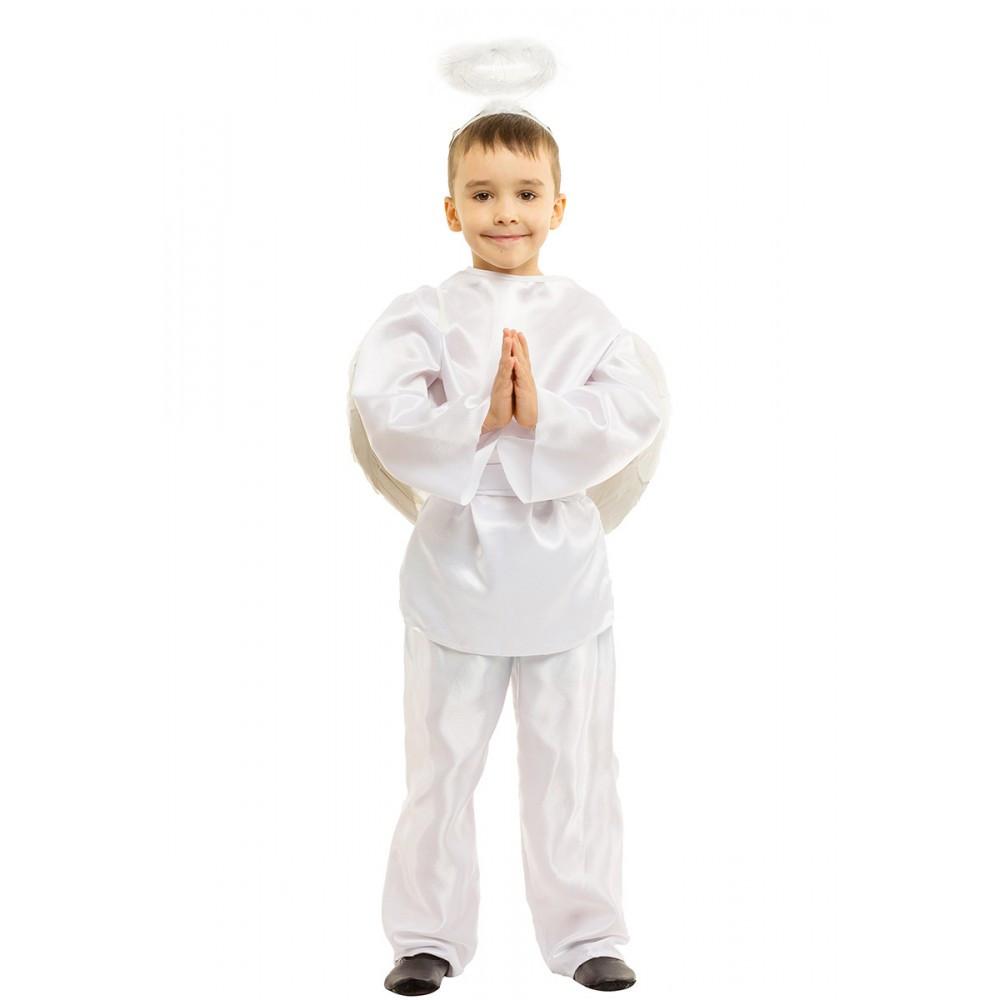 Детский маскарадный костюм Ангела для мальчика.
