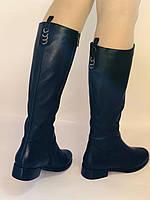 Женские осенне-весенние сапоги на низком каблуке. Натуральная кожа. Люкс качество. Erisses. Р 37.38.39.40, фото 8