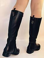Женские осенне-весенние сапоги на низком каблуке. Натуральная кожа. Люкс качество. Erisses. Р 37.38.39.40, фото 2