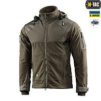 M-Tac куртка Norman Windblock Fleece Olive, фото 1