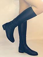 Женские осенне-весенние сапоги на низком каблуке. Натуральная кожа. Люкс качество. Р. 35.36. 37.39.Molka, фото 9
