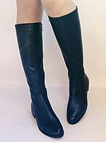 Женские осенне-весенние сапоги на низком каблуке. Натуральная кожа. Люкс качество. Р. 35.36. 37.39.Molka, фото 3