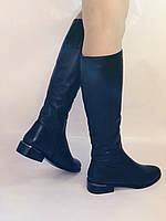 Женские осенне-весенние сапоги на низком каблуке. Натуральная кожа. Люкс качество. Р. 35.36. 37.39.Molka, фото 4