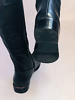 Женские осенне-весенние сапоги на низком каблуке. Натуральная кожа. Люкс качество. Р. 35.36. 37.39.Molka, фото 8