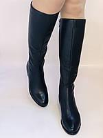 Женские осенне-весенние сапоги на низком каблуке. Натуральная кожа. Люкс качество. Р. 35.36. 37.39.Molka, фото 2