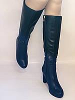 Жіночі осінньо-весняні чобітки на підборах. Натуральна шкіра. Люкс якість. Р. 35, 36, 38, фото 7