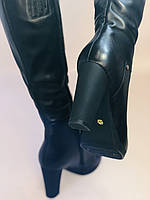 Женские осенне-весенние сапоги на каблуке. Натуральная кожа. Люкс качество. Р. 35, 36, 38, фото 8