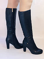 Женские осенне-весенние сапоги на каблуке. Натуральная кожа. Люкс качество. Р. 35, 36, 38, фото 4
