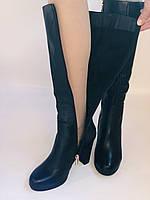 Жіночі осінньо-весняні чобітки на підборах. Натуральна шкіра. Люкс якість. Р. 35, 36, 38, фото 5