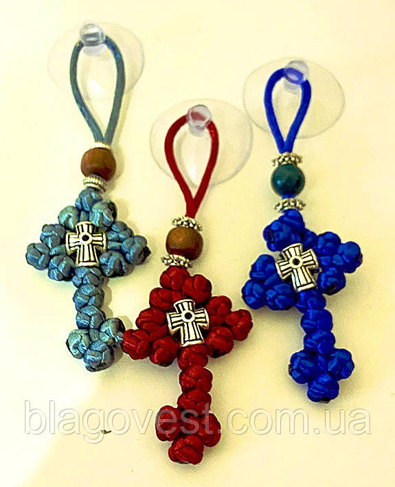 Подвеска крест оргстекло (печать оргстекло) К
