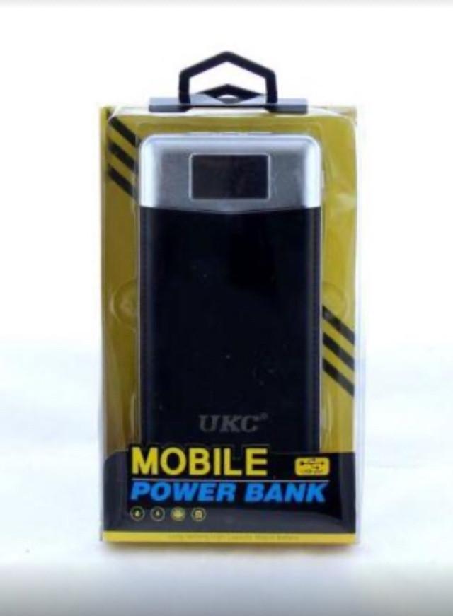 Моб. Зарядка POWER BANK UKC- 38000+LCD+2USBmah (120)