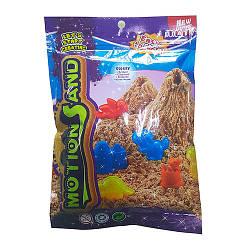 Песок для творчества MS-500G-V  500г, фиолетовый, в кульке, 15,5-22,5-2см