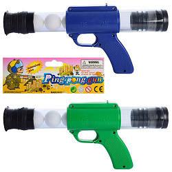 Пистолет TG 0617 A  помповый, 29-13-4см, шарики 5шт, 2 цвета, в кульке, 17,5-38-4см