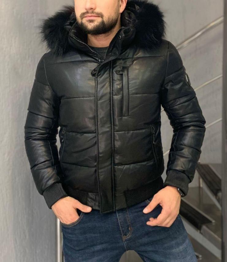 Мужская куртка стильная приталенная. Коллекция Зима 2021. Размеры: M, L, XL, 2Xl, 3XL.