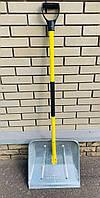 Лопата железная для снега «MaaN» Польша с металлической ручкой