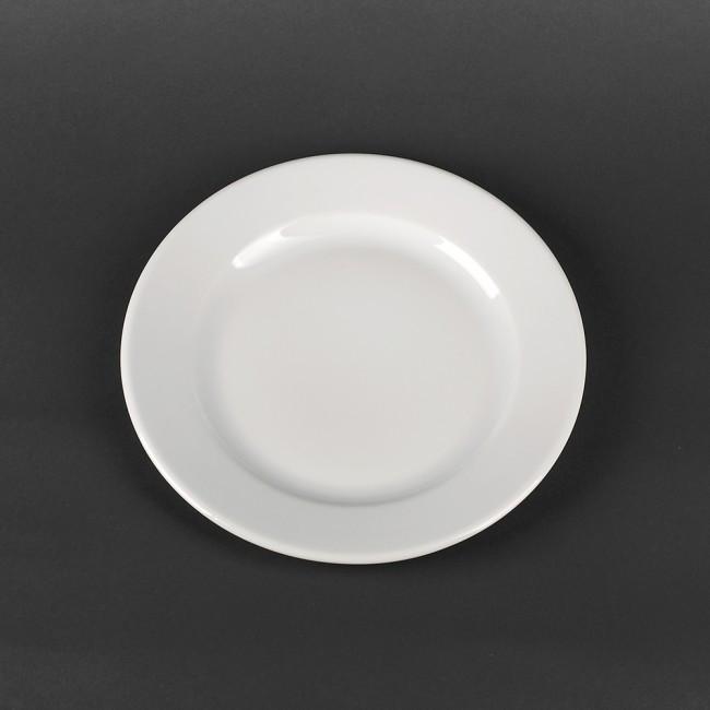 Тарелка круглая фарфоровая для ресторанов 240 мм Lubiana Kaszub (234)