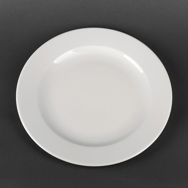 Тарелка фарфоровая обеденная Lubiana Kaszub 300 мм (343)