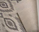 Рулонные шторы термо Фольк C-642 серый, фото 4