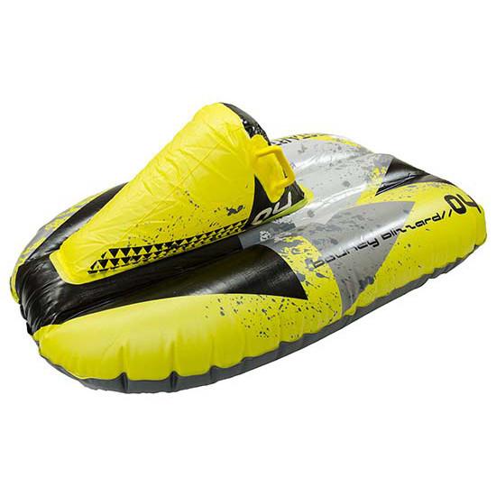 Надувные санки тюбинг Гоночная машина For Fun WSP170015 102х62 см Yellow