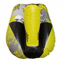 Надувные санки тюбинг Гоночная машина For Fun WSP170015 102х62 см Yellow, фото 3