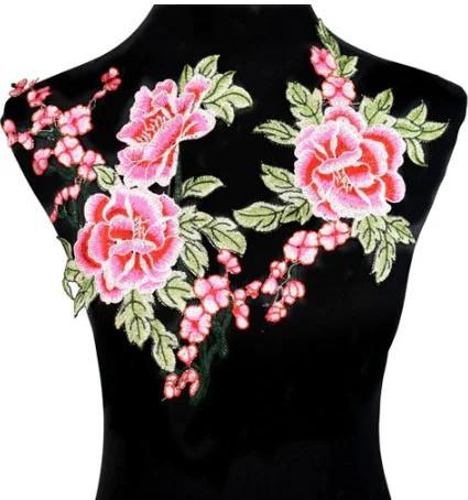 Аппликация нашивная на одежду Цветы