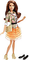 Кукла Барби Стиль Тереза 2015 (Barbie Style Teresa Doll, Floral Jacket & Orange Ruffle Skirt)