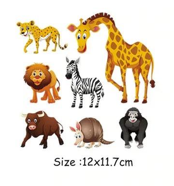 Термонаклейка для одежды ребенку Животные