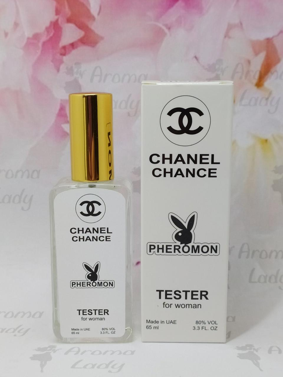 Тестер с феромонами женский Chanel Chance (Шанель Шанс) 65 мл