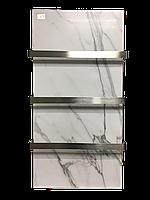 Керамический полотенцесушитель с терморегулятором LIFEX ПСК600R (белый мрамор), фото 1