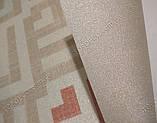 Рулонні штори термо Фольк C-641 бежевий, фото 4