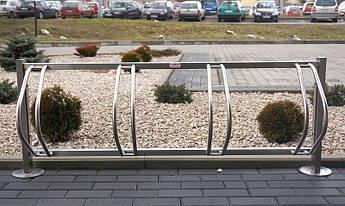 Велопарковка на 10 велосипедів Echo-10 Pion inox Польща